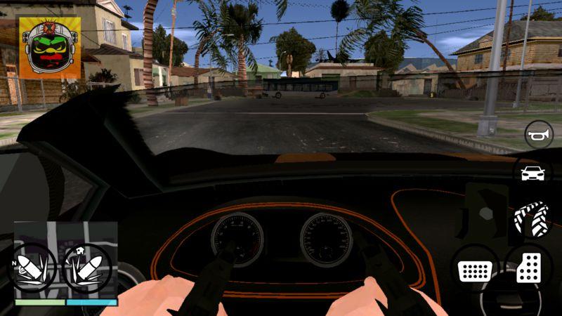 GTA San Andreas GTA V Online HUD GTA SA Android v1 Mod
