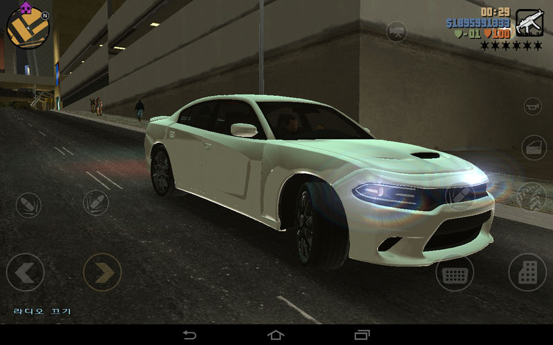 Gta 3 2015 Dodge Charger Hellcat For Gta Iii Mobile Mod