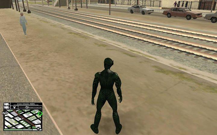 Gta San Andreas Green Goblin Skin Mod Gtainsidecom