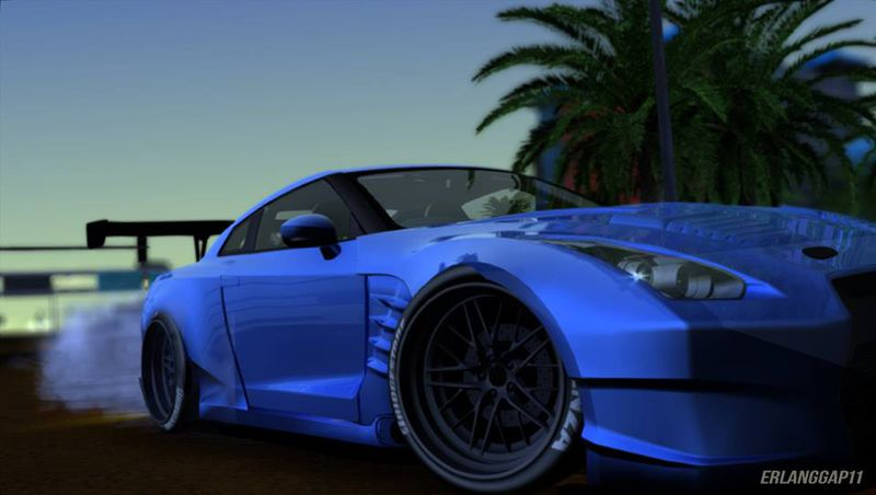 Cars In Fast And Furious 8 >> GTA San Andreas Nissan GT-R R35 Bensopra '10 Mod