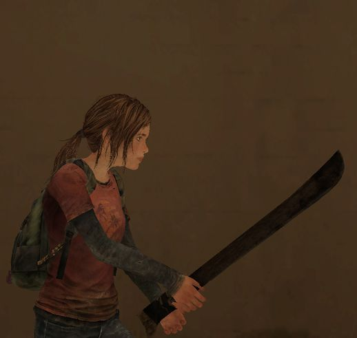 Machete from The Last of Us