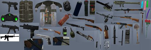 Atmosphere Weapons Pack v3.0