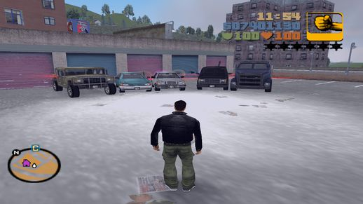 GTA3 99% Savegame (with Special Cars)