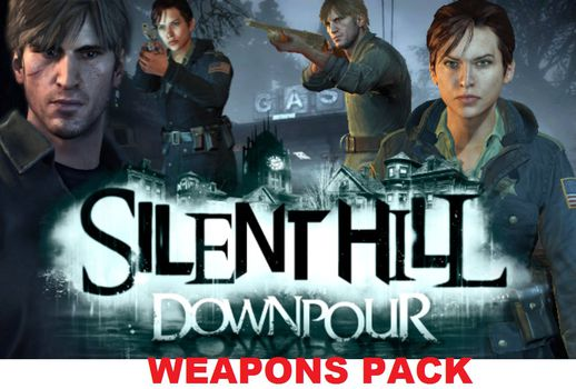 Silent Hill Downpour Weapons Pack