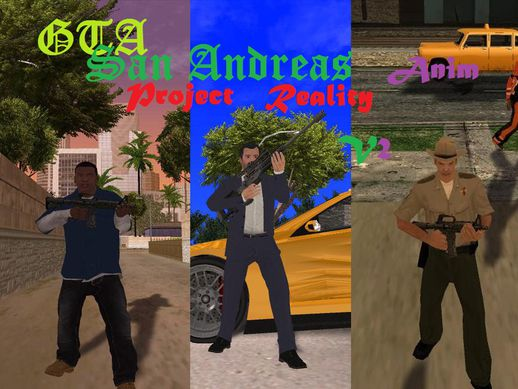 GTA SA Project REALITY ANIM v2