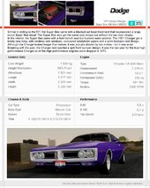 Dodge Charger Super Bee 426 Hemi (WS23) 1971 1.1