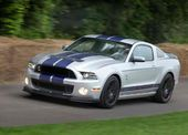 V8 Sound: Ford Mustang Shelby GT500