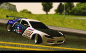 Mazda RX-8 Tuned Black Rock Shooter Itasha