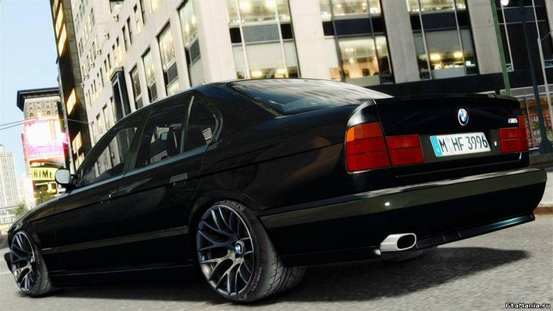 GTA 4 1995 BMW M5 E34 Mod - GTAinside.com