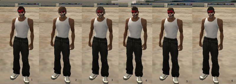 Gta San Andreas Gta V Online Hair Styles Mod Gtainside Com