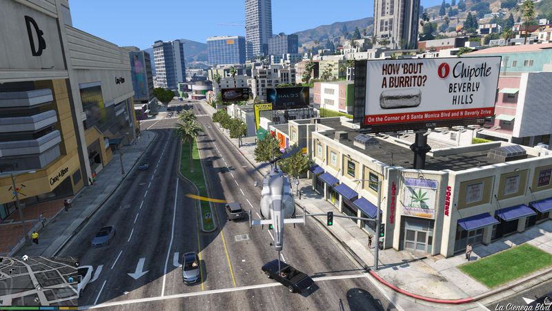 GTA 5 Realistic Advertising & Billboards 1 0 Mod - GTAinside com