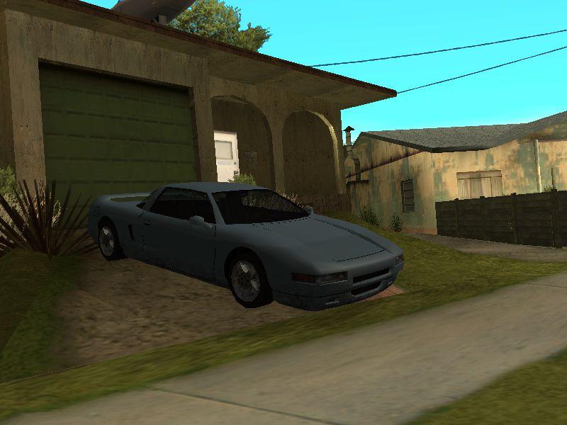 Gta San Andreas Sports Cars In Grove Street V1 0 Mod Gtainside Com