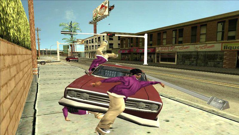 GTA San Andreas Redtrek's Ragdoll Settings Mod - GTAinside com