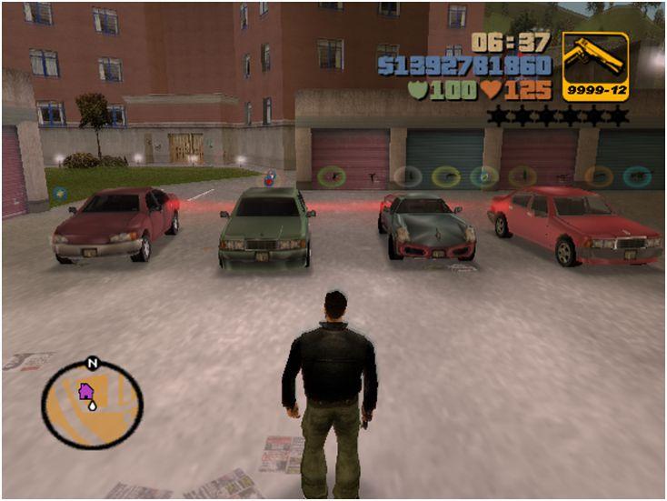 GTA 3 GTA III Awesome Savegame + Comprehensive Proof Cars