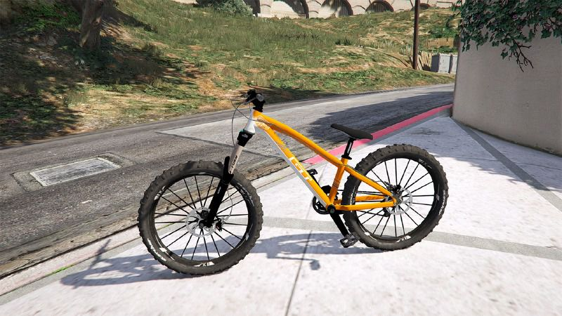gta 5 mountain bike