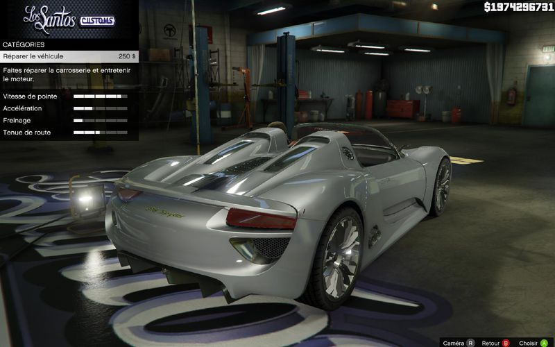 gta 5 porsche 918 spyder mod. Black Bedroom Furniture Sets. Home Design Ideas