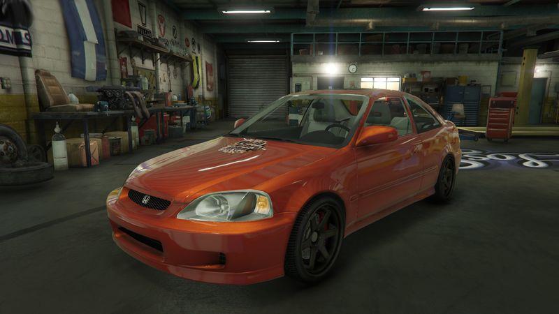 GTA 5 Honda Civic Si Mod