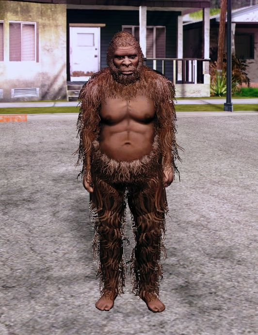 GTA San Andreas GTA V Bigfoot PED Mod - GTAinside com