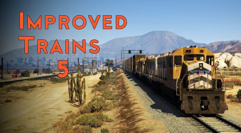 GTA 5 Improved Trains Mod - GTAinside com