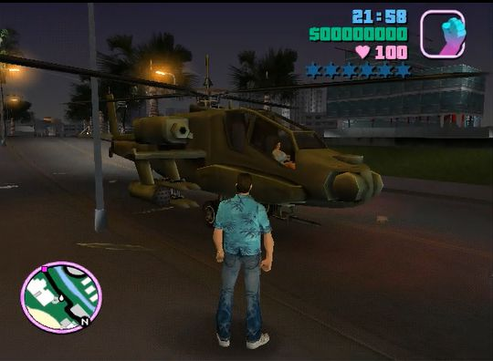 GTA Vice City Helicopters On Road 1 0 2 Mod - GTAinside com
