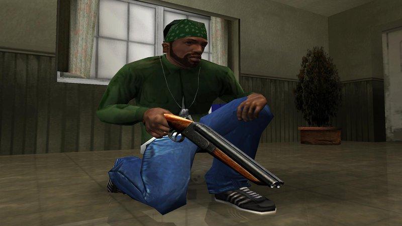 GTA San Andreas Original HD Weapons (final) Mod - GTAinside com