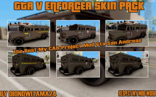 GTA V Enforcer Skin Pack