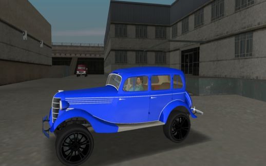 GAZ 11-73 Royal Blue