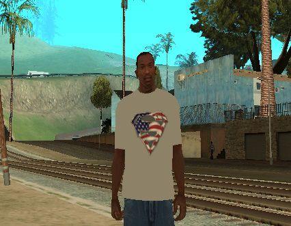 美国超人T恤