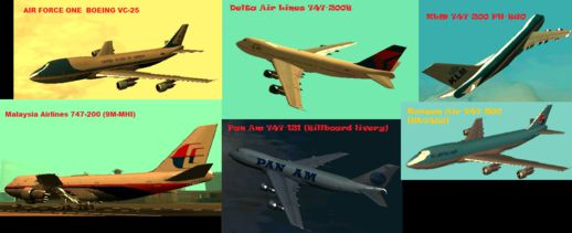 Boeing 747 New Skin Pack (2)