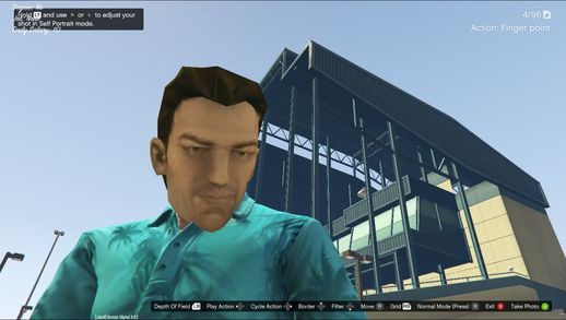 Tommy Vercetti Mask