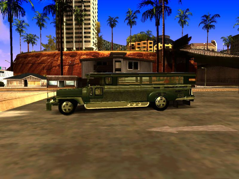 Gta San Andreas Milwaukee Motors Custom Jeepney Mod
