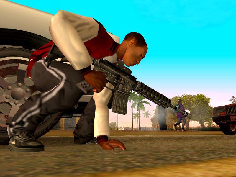 GTA San Andreas GTA SA Project REALITY ANIM v3 Mod