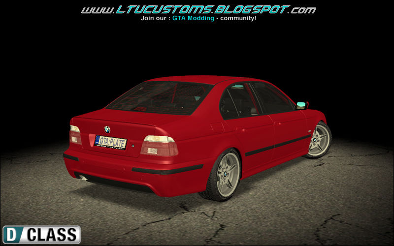 gta san andreas 2001 bmw e39 530d mtech mod. Black Bedroom Furniture Sets. Home Design Ideas