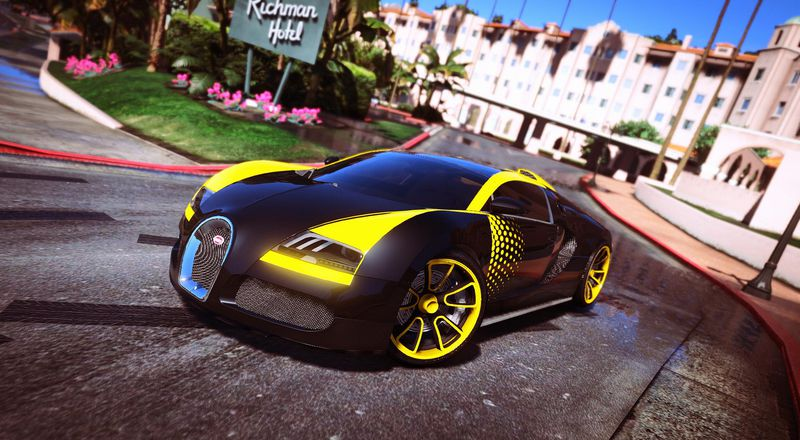 gta 5 bugatti veyron automatic spoiler mod. Black Bedroom Furniture Sets. Home Design Ideas