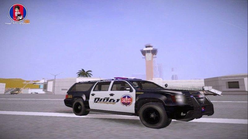 GTA San Andreas Sheriff Granger Police GTA V in Gta san Mod