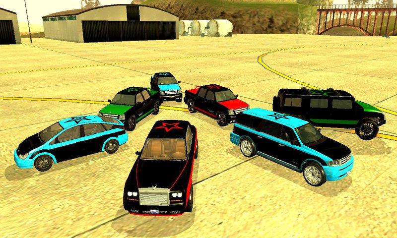 Cavalcade Of Customs >> GTA San Andreas Saints Row 3 Gang Vehicles Pack Mod ...
