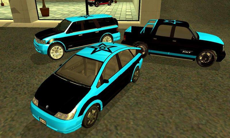 Gta San Andreas Saints Row 3 Gang Vehicles Pack Mod