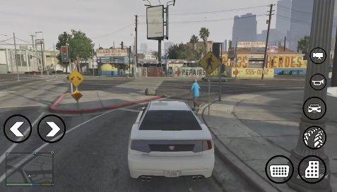 GTA San Andreas New Handling of GTA V For GTA SA Android Mod
