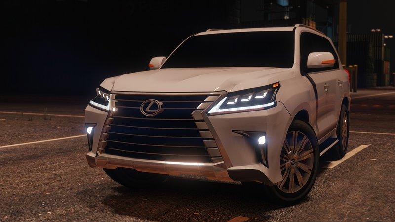 GTA 5 2016 Lexus LX 570 Mod - GTAinside.com