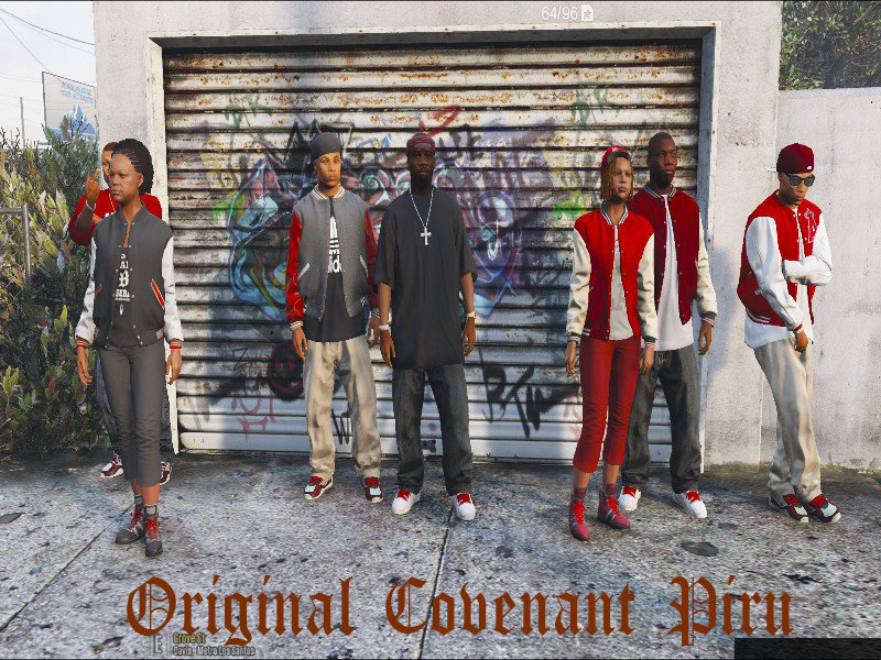 Gta 5 West S Families To Crips Ballas To Bloods Females Lamar