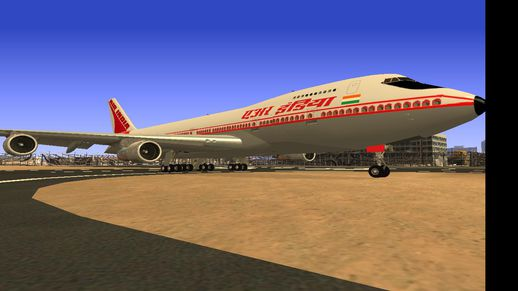 Air India Boeing 747-200 Old