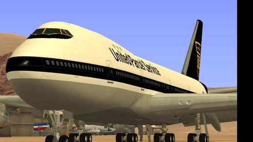 Boeing 747-100 UPS Old