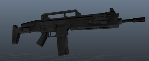 Resident Evil 6 Chris Assault Rifle