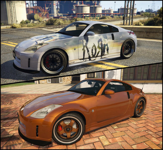 Nissan 350z (Clean & with Livery)