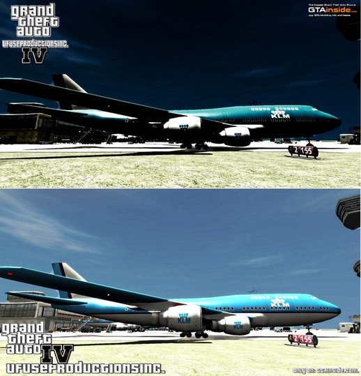 KLM Airplane V2.0 |ULTRA HD|