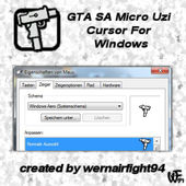 Micro Uzi Cursor For Windows