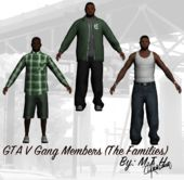 GTA V Gang Members (Families)