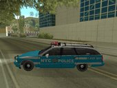 New York Police Department fictional Chevy Caprice Station Wagon 1993/1996