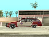 San Andreas County Fire Department Chevy Caprice Station Wagon 1993/1996