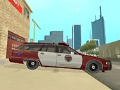 Fire Department San Andreas Chevy Caprice Station Wagon 1993/1996